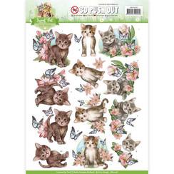 SB10196 - Uitdrukvel - Amy Design -Sweet Pet-Cats