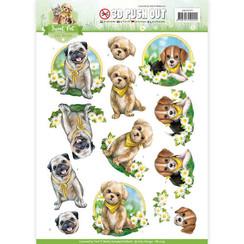SB10195 - Uitdrukvel - Amy Design -  Sweet Pet-Dogs