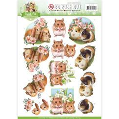 SB10194 - Uitdrukvel - Amy Design - Sweet Pet-Rodents