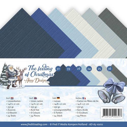 Amy Design AD-A5-10012 - Linnenpakket - A5 - Amy Design - The feeling of Christmas