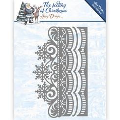 ADD10111 - Mal - Amy Design - The feeling of Christmas - Ice crystal border