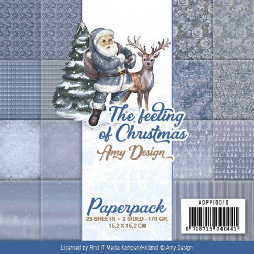 Amy Design ADPP10018 - Papierpak - Amy Design - The feeling of Christmas