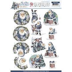 SB10187 - Uitdrukvel - Amy Design - The feeling of Christmas - Santa claus