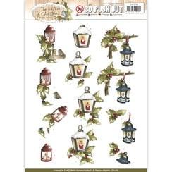 SB10185 - Uitdrukvel - Precious Marieke - The Nature of Christmas - Christmas Lantern