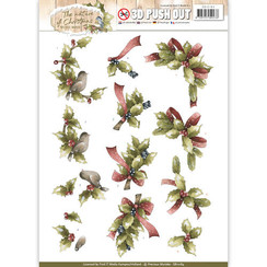 SB10184 - Uitdrukvel - Precious Marieke - The Nature of Christmas - Christmas Holly