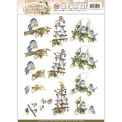 SB10182 - Uitdrukvel - Precious Marieke - The Nature of Christmas - Christmas Birds