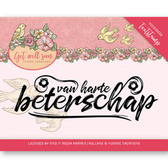 YCCS10033 - Stempel - Text stamp - Get well Soon