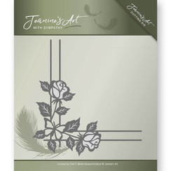 JAD10014 - Mal - Jeanines Art- With Sympathy - Rose Corner