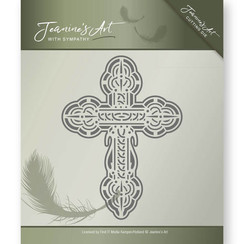 JAD10012 - Mal - Jeanines Art- With Sympathy - Cross