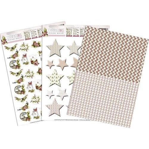 Precious Marieke SETCD10530 - Precious Marieke - Charming Xmas - Mini`s & Labels
