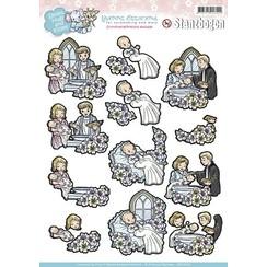 SB10030 - Uitdrukvel - Yvonne Creations - Smiles Hugs and Kisses