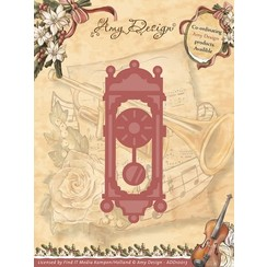 ADD10013 - Mal - Amy Design - Vintage Christmas Collection Mal - Old-Fasioned Clock
