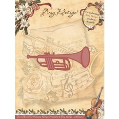 ADD10012 - Mal - Amy Design - Vintage Christmas Collection Mal - Trumpet
