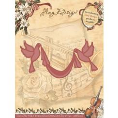ADD10010 - Mal - Amy Design - Vintage Christmas Collection Mal - Doves with Sash
