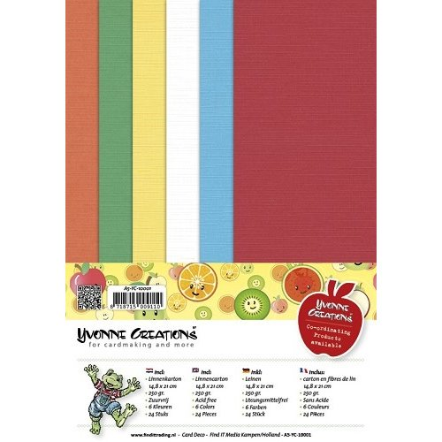 Yvonne Creations A5-YC-10001 - Linnenpakket - A5 - Yvonne Creations - Opkikker