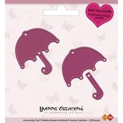 CDD10009 - Mal - Yvonne Creations - Love - Umbrella