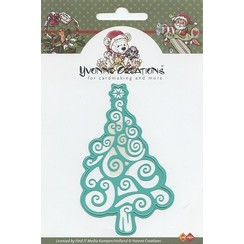CDD10001 - Mal - Yvonne Creations - Christmas tree