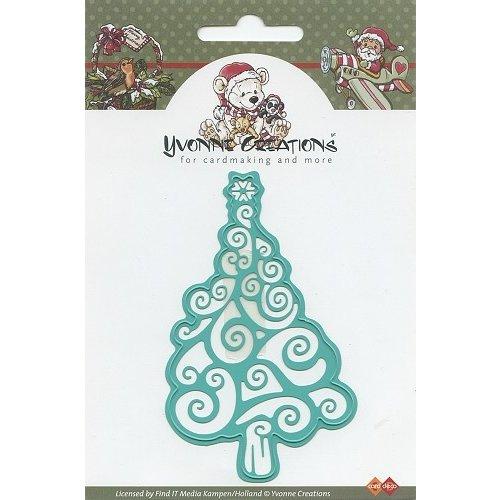Yvonne Creations CDD10001 - Mal - Yvonne Creations - Christmas tree