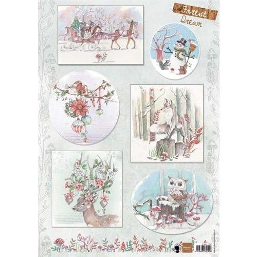 Marianne Design EWK1263 - Knipvel A4 Els Forest Dream 2