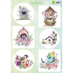 VK9573 - Knipvel A4 Birdhouses spring