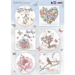 EWK1267 - Knipvel A4 Butterfly Dreams