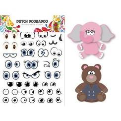 491 200 006 - DDBD Sticker Art Eyes A5
