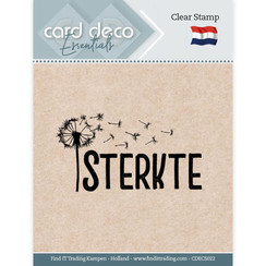 CDECS022 - Card Deco Essentials - Clear Stamps - Sterkte