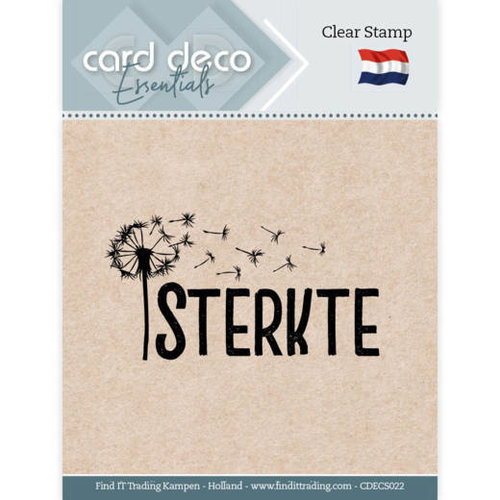 Card Deco CDECS022 - Card Deco Essentials - Clear Stamps - Sterkte