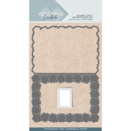Card Deco CDCD10009 - Card Deco Essentials - Cutting Dies - Snowflakes A5