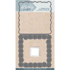 CDCD10008 - Card Deco Essentials - Cutting Dies - Snowflakes 4K