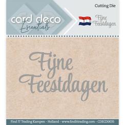 CDECD0035 - Card Deco Essentials - Cutting Dies - Fijne Feestdagen