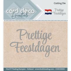 CDECD0041 - Card Deco Essentials - Cutting Dies - Prettige Feestdagen