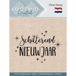 CDECS014 - Card Deco Essentials - Clear Stamps - Schitterend Nieuwjaar