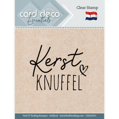 CDECS015 - Card Deco Essentials - Clear Stamps - Kerst Knuffel