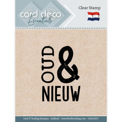 CDECS017 - Card Deco Essentials - Clear Stamps - Oud & Nieuw
