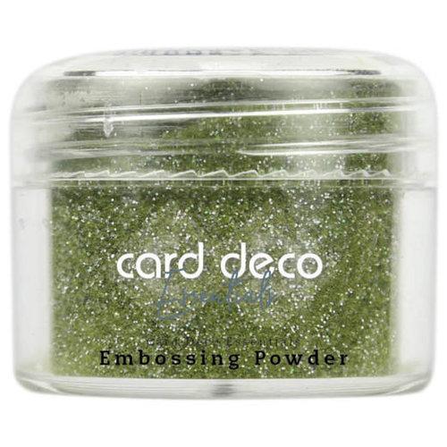 Card Deco CDEEP011 - Card Deco Essentials - Embossing Powder Glitter Green 30 Gr