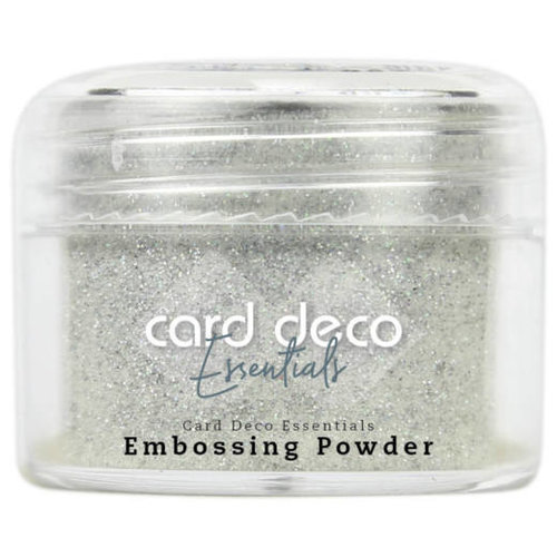 Card Deco CDEEP008 - Card Deco Essentials - Embossing Powder Glitter White 30 Gr