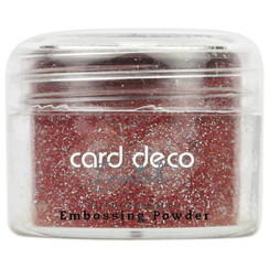 CDEEP007 - Card Deco Essentials - Embossing Powder Glitter Red 30 Gr