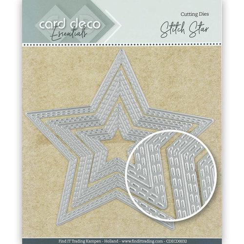 Card Deco CDECD0032 - Card Deco Essentials Cutting Dies Stitch Star