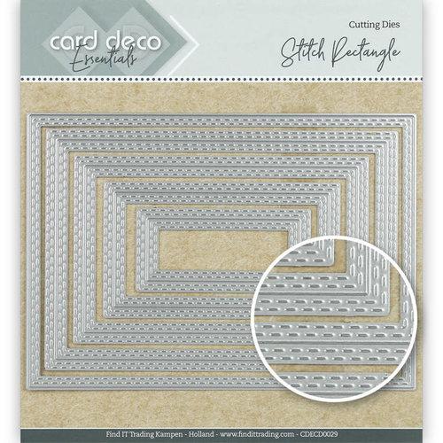 Card Deco CDECD0029 - Card Deco Essentials Cutting Dies Stitch Rectangle