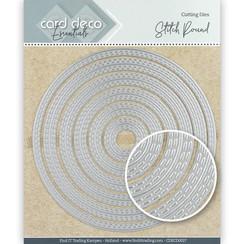 CDECD0027 - Card Deco Essentials Cutting Dies Stitch Round