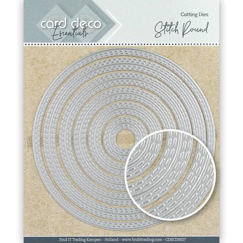 Card Deco CDECD0027 - Card Deco Essentials Cutting Dies Stitch Round