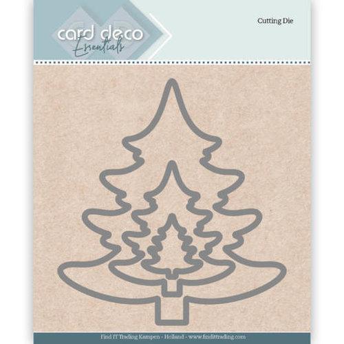 Card Deco CDECD0026 - Card Deco Essentials Cutting Dies Christmas Tree