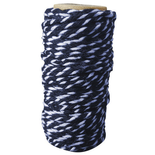 Card Deco CDEBT003 - Card Deco Essentials - Bakers Twine blue/white