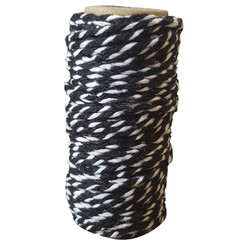 CDEBT001 - Card Deco Essentials - Bakers Twine black/white