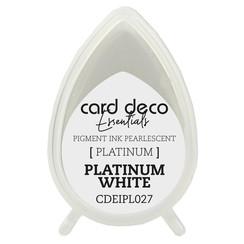 CDEIPL027 - Card Deco Essentials Fast-Drying Pigment Ink Pearlescent Platinum White