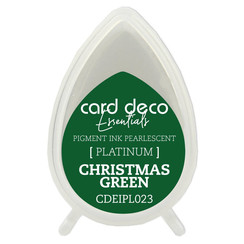 CDEIPL023 - Card Deco Essentials Fast-Drying Pigment Ink Pearlescent Christmas Green