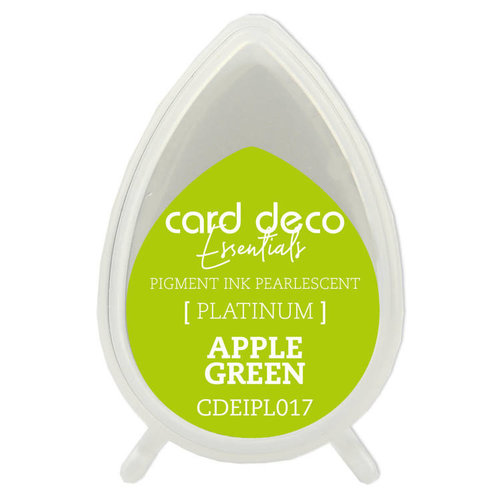 Card Deco CDEIPL017 - Card Deco Essentials Fast-Drying Pigment Ink Pearlescent Apple Green