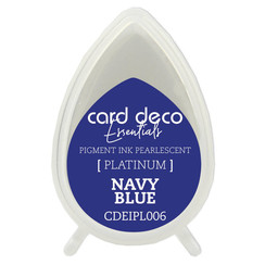 CDEIPL006 - Card Deco Essentials Fast-Drying Pigment Ink Pearlescent Navy Blue