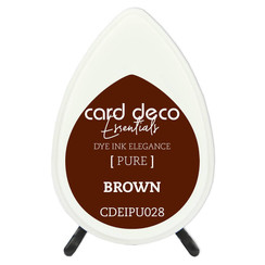 CDEIPU028 - Card Deco Essentials Fade-Resistant Dye Ink Brown